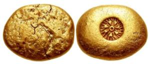 Ionia – zecca incerta – 650 – 600 aC EL statere (Samian standard)