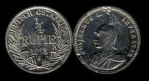 ¼ rupia collage