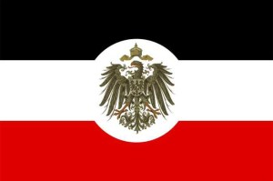 Bandiera coloniale del Reich