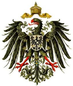 Lo stemma imperiale tedesco (foto da Wikipedia)