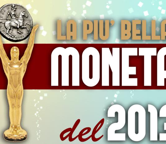 La più bella moneta del 2013