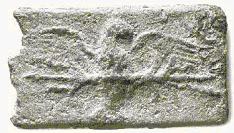 Figura 12 aes signatum aquila su fulmine