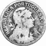 moeda de 1 escudo no estado reg