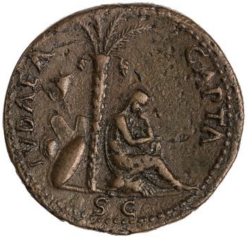 Reverse of RIC II, Part 1 (second edition) Vespasian 1268. 1954.203.168