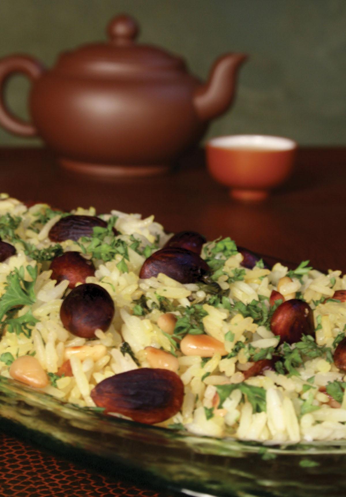 Nutty Jasmine Rice - Numi Organic Jasmine Green Tea