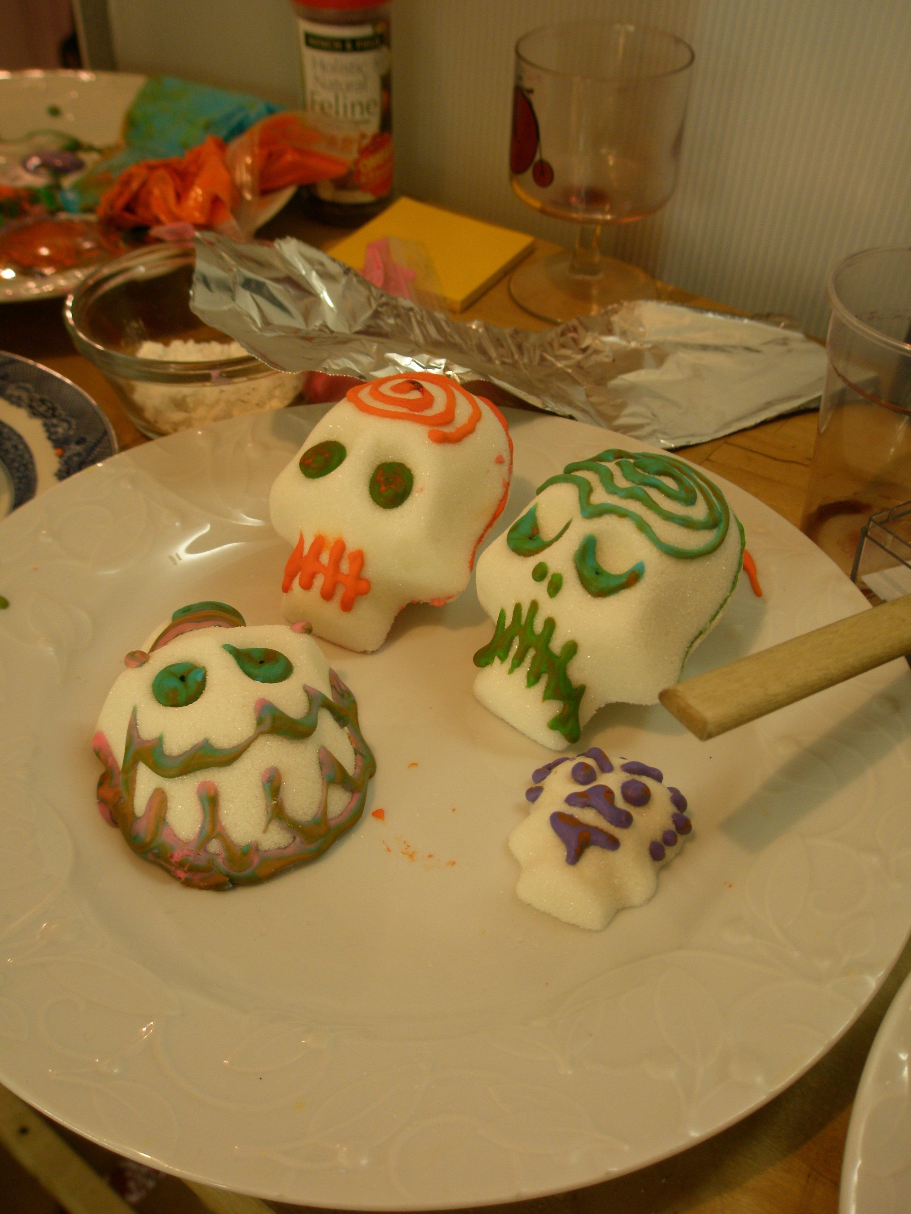 decorated skulls
