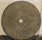antique 600mm mill stone