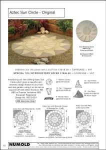 Numold - Moulds for Concrete Products - ABS Price List Page 13 - Aztec Sun Original