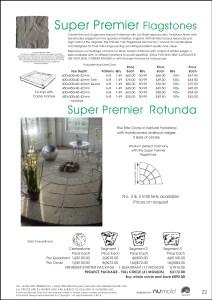 Numold - Moulds for Concrete Products - PU Price List Page 22 - Super Premier Flagstones & Rotunda