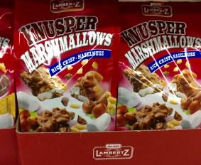 Knusper Marshmallows (Rice Crisp - Haselnuss) von Lambertz