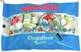 Chamallows: Schlumpf-Speck von Haribo.