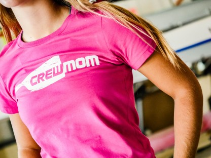 Crew Mom 100% Cotton Tee