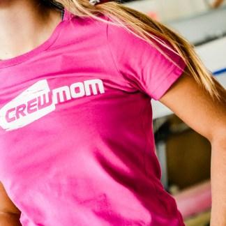 Crew Mom 100% Cotton Tee