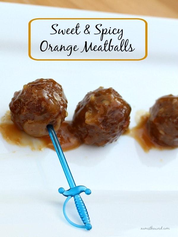 Sweet and Spicy Orange Meatballs