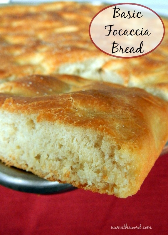 Basic Focaccia Bread Regular
