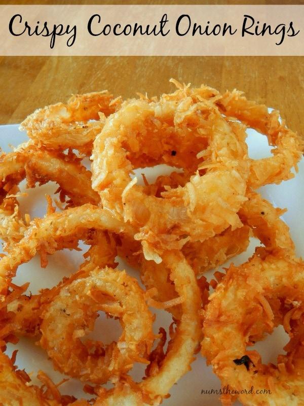 Crispty Coconut Onion Rings