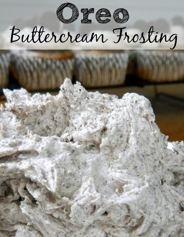 Oreo Buttercream Frosting