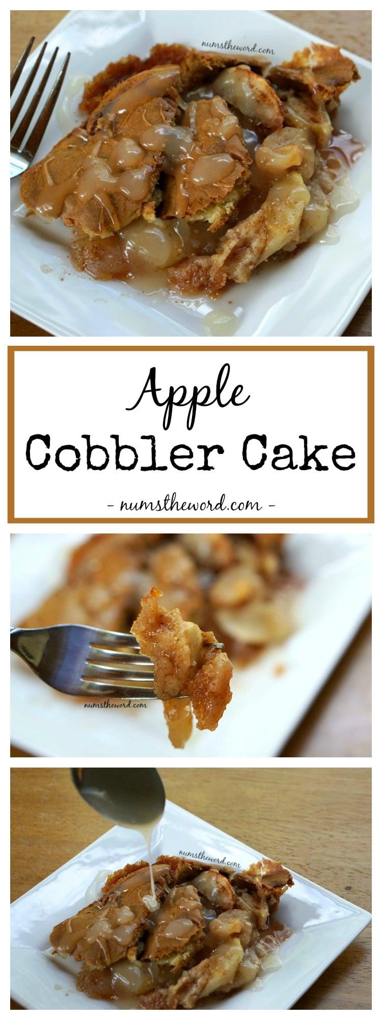 Apple Cobbler Cake