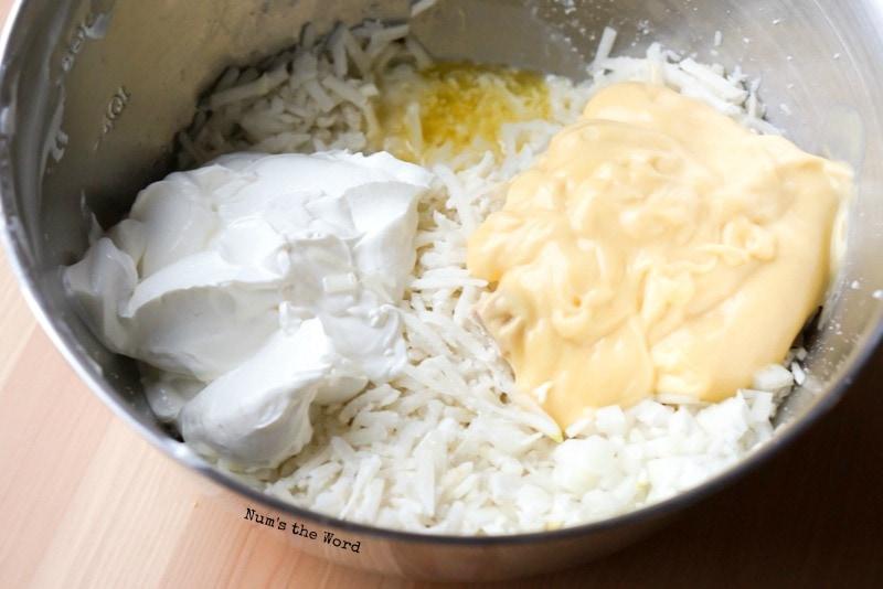 Cheesy Hash Brown Casserole