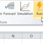 MC simulation icon in NumXL Toolbar