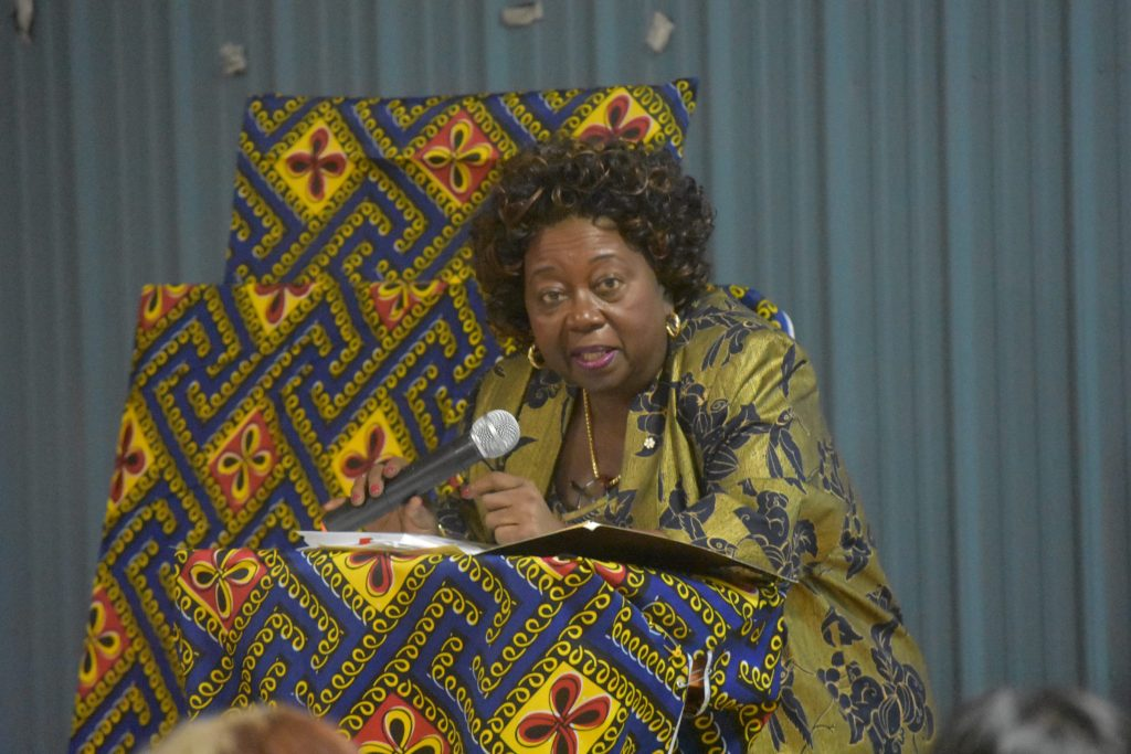 Jean Augustine speaks in Iqaluit, Nunavut to kick off Black History Month