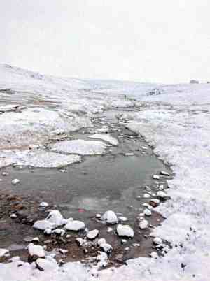 1510Katrina Germino_WINNER Katrina Germino Pond Inlet Winter is coming! The first fall of snow in Pond Inlet, Sept. 2018.