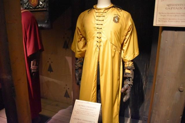 Tunica de quidditch de Cedric Diggory