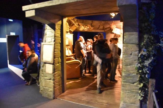 Exterior de la cabaña de Hagrid