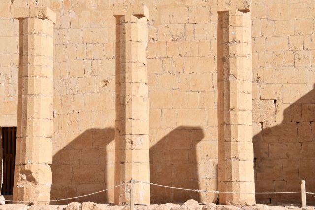 Columnas del templo de Hatshepsut