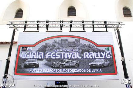 «Leiria Festival Rallye» na estrada dias 7 e 8 dezembro
