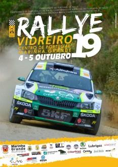 Rallye Vidreiro vai para a estrada nos dias 4 e 5 de outubro na Marinha Grande