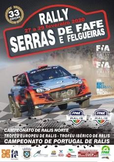 Lista de inscritos Rali Serras de Fafe e Felgueiras- Extra e CNR