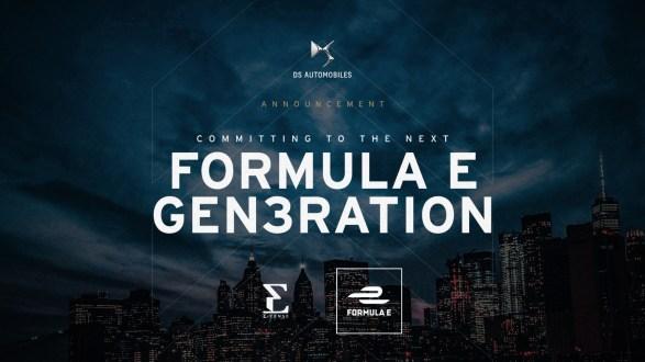 DS Automobiles na Fórmula E até 2026