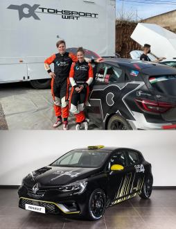 Ola Nore Jr. de Clio Rally4