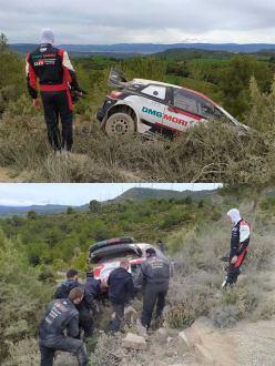 WRC: Ogier volta a sair de estrada nuns testes