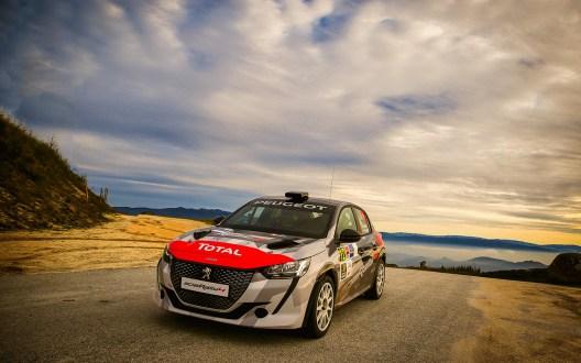 Hugo Lopes confiante para o primeiro desafio na Peugeot Rally Cup