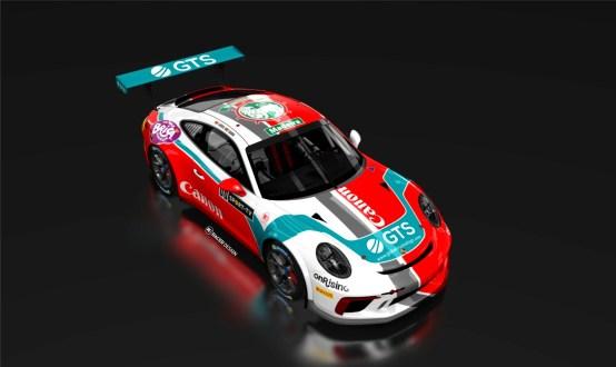 Francisco Mora de Porsche 911 GT3 Cup  no Campeonato Portugal de Velocidade