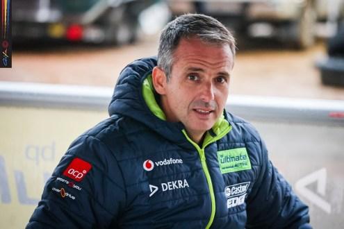 "Miguel Barbosa piloto do ""carro 0"" no Vodafone Rally de Portugal"
