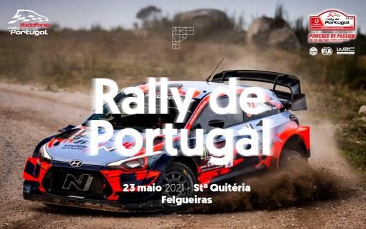 Rally de Portugal volta a St.ª Quitéria – Felgueiras dia 23 de maio