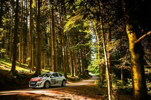 Pedro Almeida no Rallye Castine Terre D'Occitanie 2021