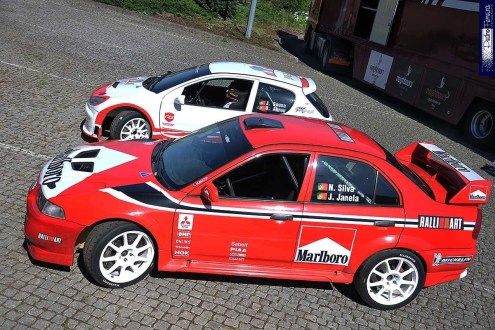 'Teste' bem-sucedido de Nelson Silva  no RallySpirit