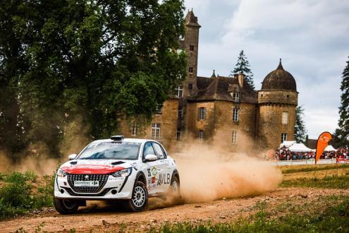 Pedro Almeida brilha na Peugeot 208 Rally Cup de França