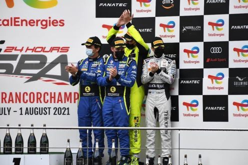 Portugueses em destaque nas 24h de Spa-Francorchamps