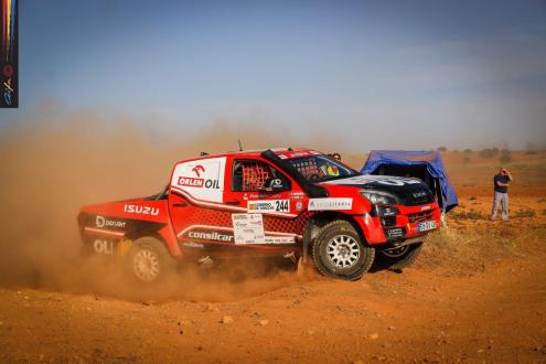 Fernando Barreiros no Rally TT Villa de Zuera
