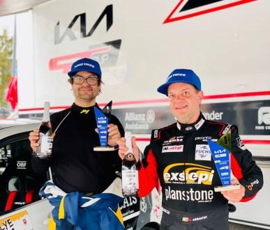 Miguel Abrantes é o grande vencedor do Kia Rally Cup