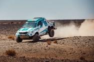 """Toyota de Paulo Ferreira """"devorada"""" pelas chamas no Rallye du Maroc"""