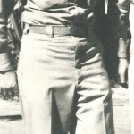 Captain Fitzgerald on Miami Beach in the Philippines in 1944.