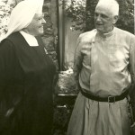 Father Gerald with Mother Dolorosa
