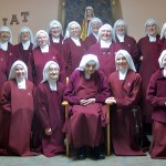Handmaids gather after the Chapter.