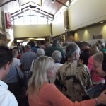 Over 5,100 people crammed the convention center.